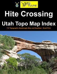 Paperback atlas: Hite Crossing Utah Topo Map Index