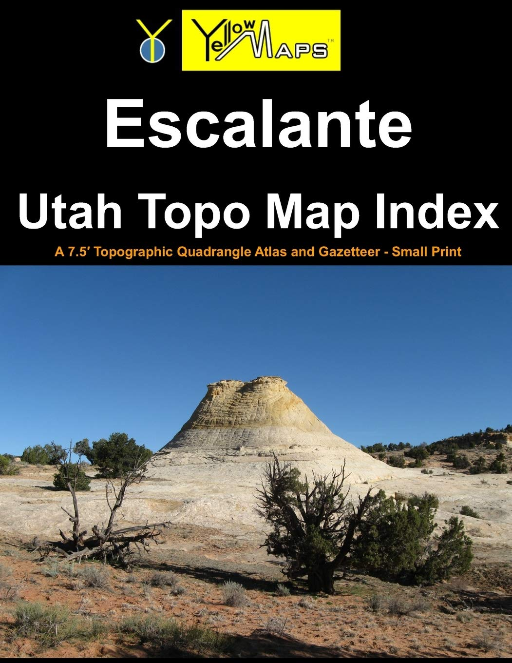 Paperback atlas: Escalante Utah Topo Map Index