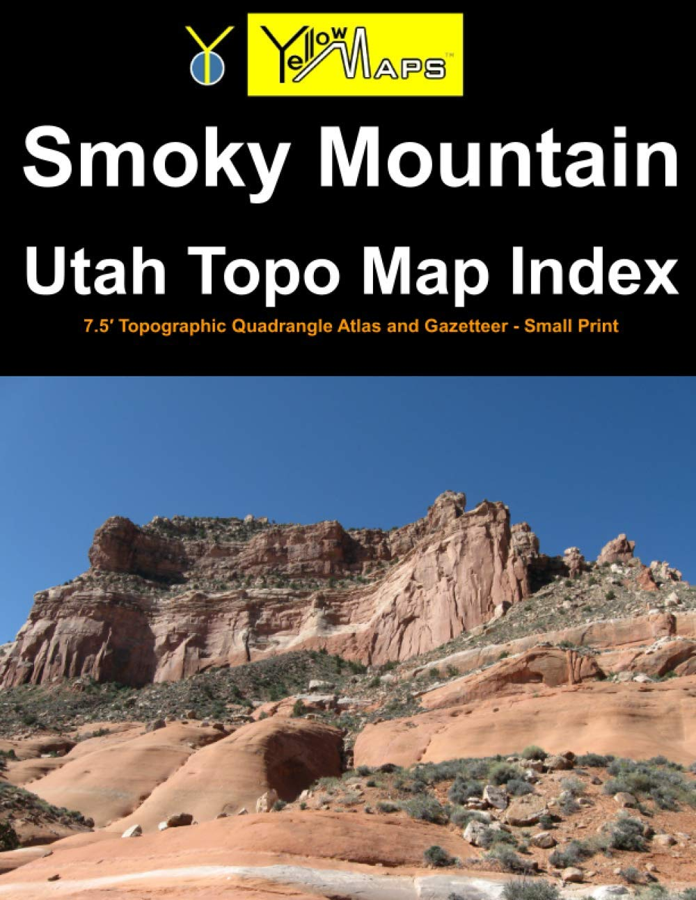 Paperback atlas: Smoky Mountain Utah Topo Map Index