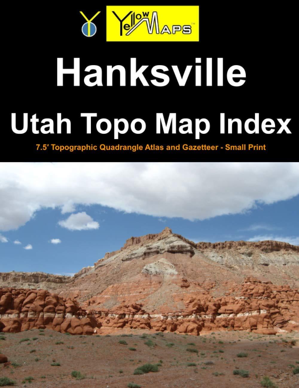 Paperback atlas: Hanksville Utah Topo Map Index