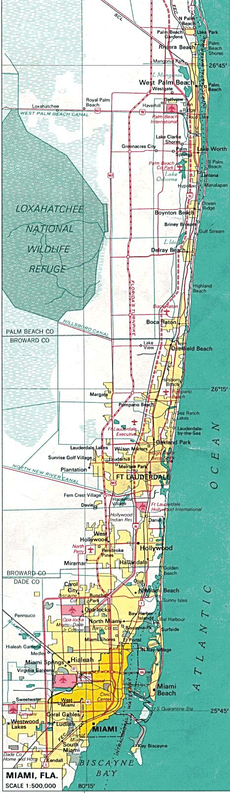 Florida Map Finder 100 Florida State Maps