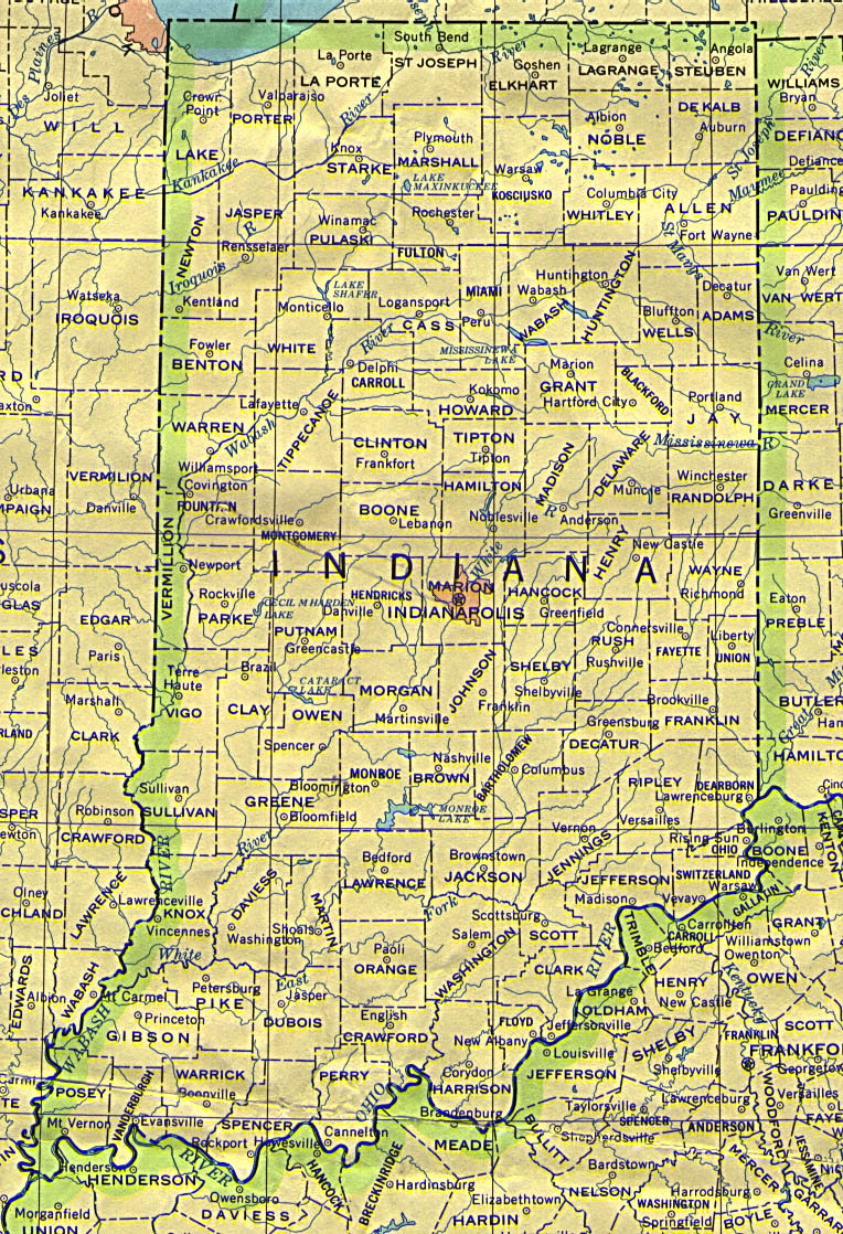 Indiana Base Map