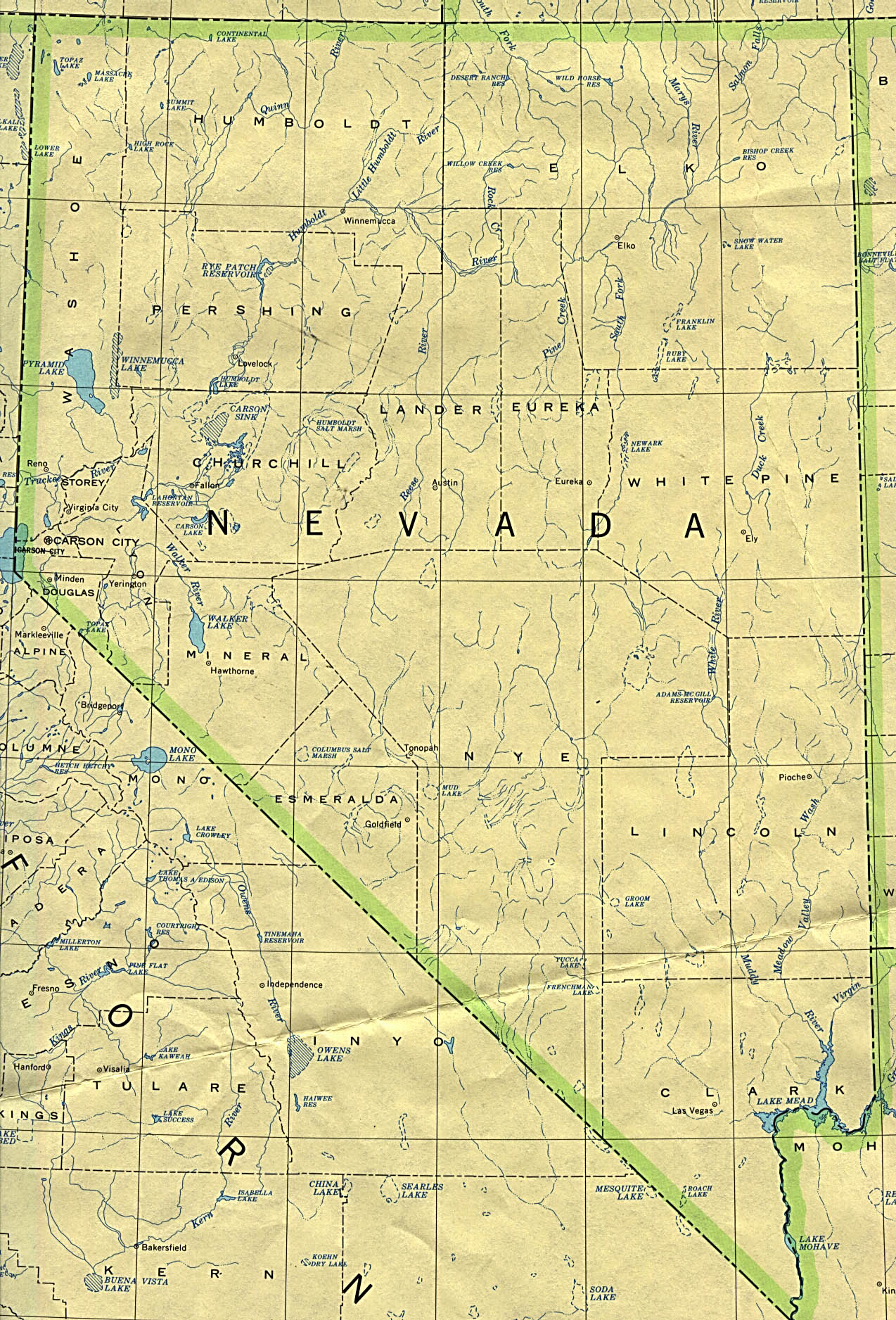 Nevada Base Map