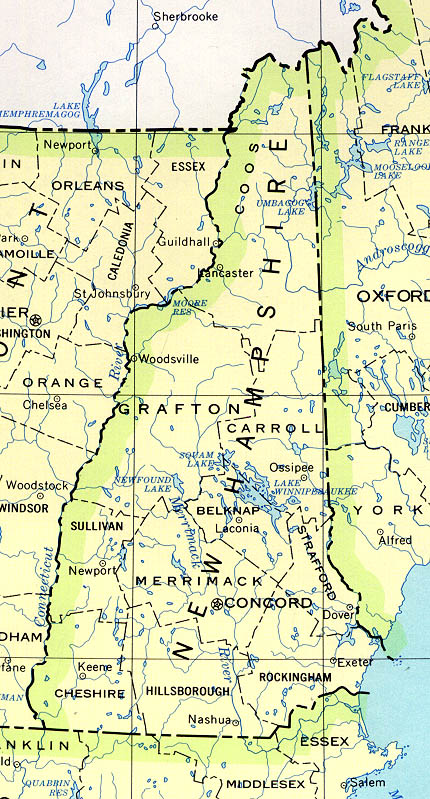 New Hampshire Base Map on idaho map, ma map, de map, al map, fl map, ri map, wy map, ky map, united states map, vt map, iowa map, or map, new hampshire road map, new hampshire state map, md map, mi map, quebec map, missouri map, nc map, maine map,