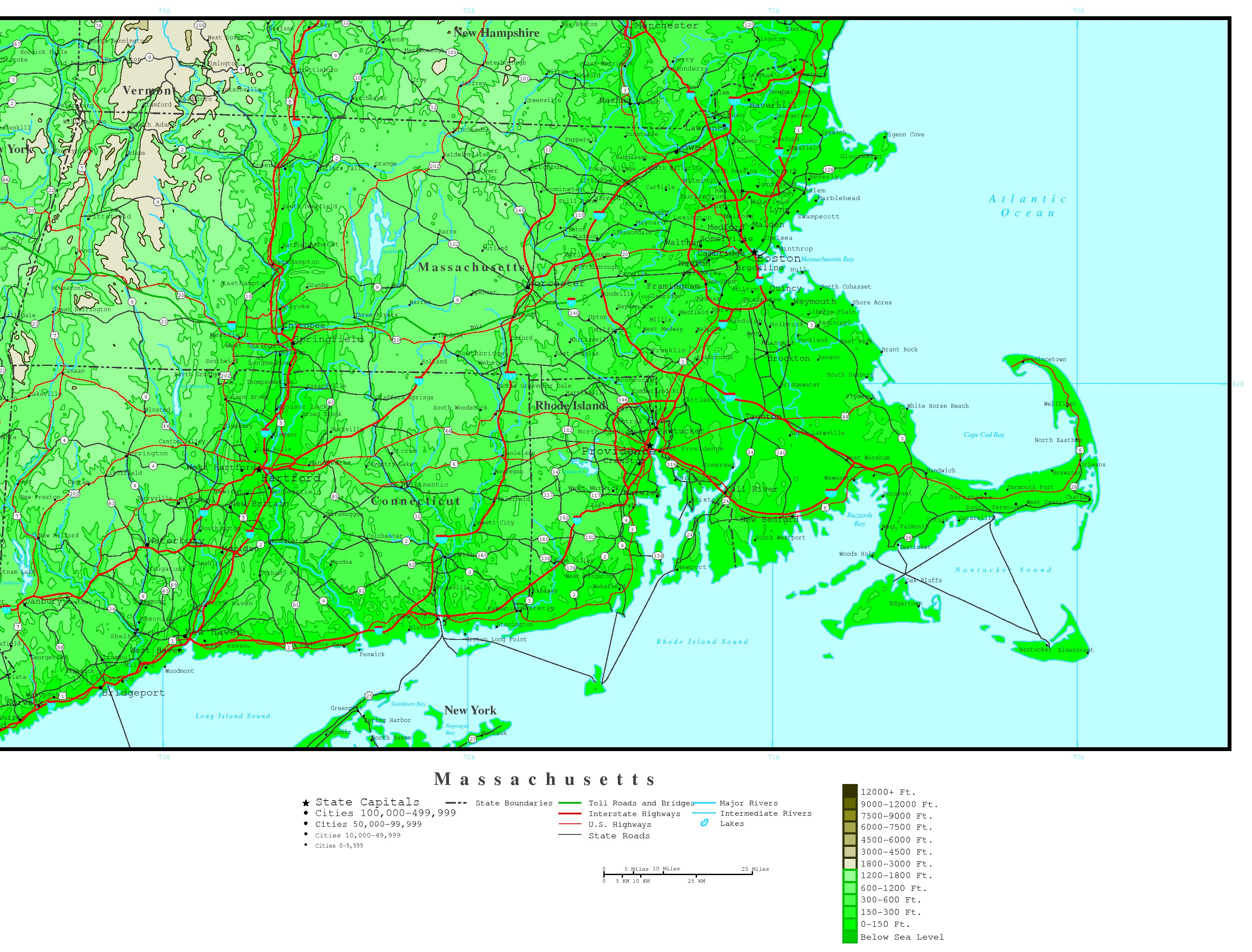 Wonderful Cape Cod Elevation Map Part - 4: YellowMaps