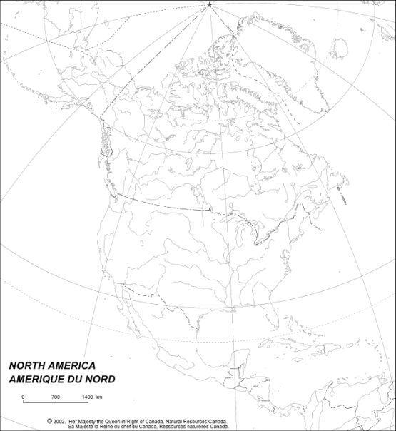 blank map of Canada provinces, CAN empty map