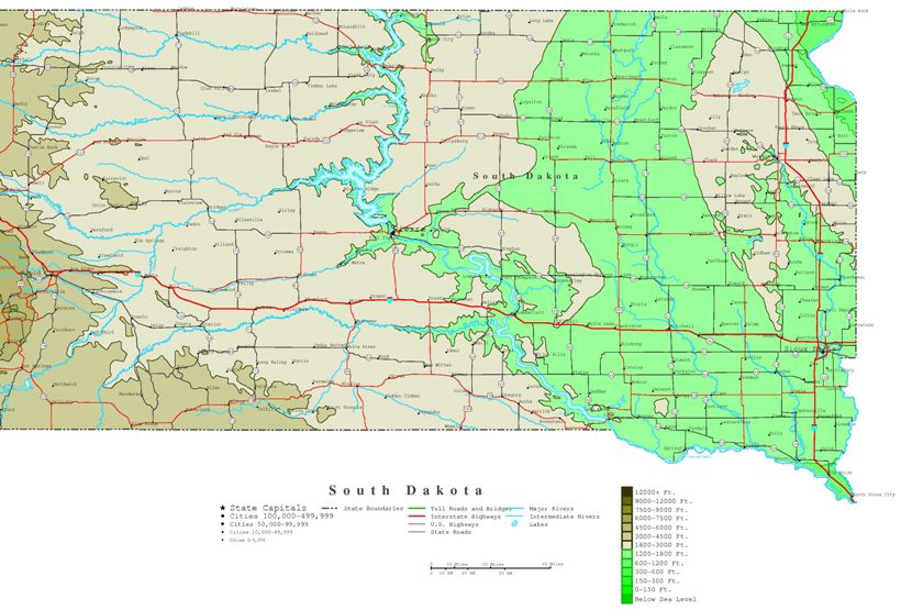 topographical map of new mexico with South Dakota Contour Map 207 on Arizona Map Temperature as well Central Rocky Mountains Map besides South Asia Political Map 2004 further Costa Rica together with Az 1.