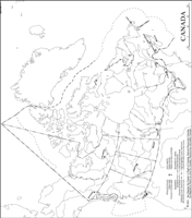 Outline government Map of CAN Provinces