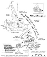 Newfoundland Outline Map