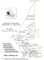 Outline government Map of NT Territory