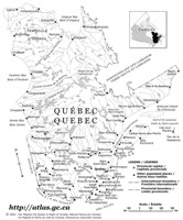 Outline province Map of QC Province