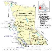 British Columbia Political Map