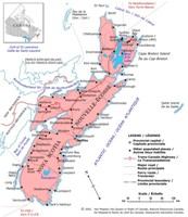 Nova Scotia Political Map