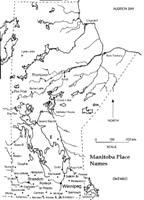 Manitoba Printable Map