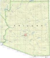 Arizona Base Map