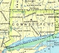 Connecticut Base Map
