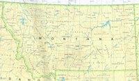 Montana Base Map