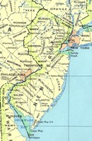 Base reference Map of NJ State