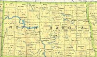 Base reference Map of ND State