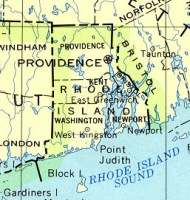 Base reference Map of RI State