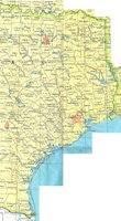 Eastern Texas Base Map