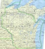 Wisconsin Base Map