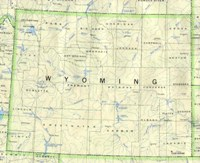 Wyoming Base Map