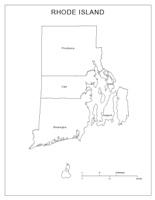 Rhodeisland Labeled Map