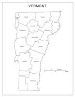 Vermont Labeled Map