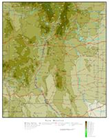 New Mexico Elevation Map