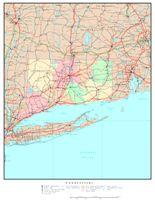 Connecticut Political Map