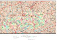 Kentucky Political Map