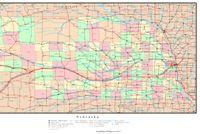 Nebraska Political Map