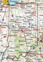 Indiana Reference Map