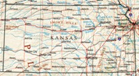 Reference physical Map of KS State
