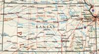 Kansas Reference Map