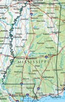 Mississippi Reference Map