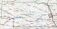 Reference physical Map of NE State