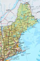 Reference physical Map of MA State