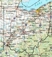 Ohio Reference Map