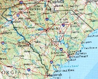 South Carolina Reference Map