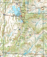 Utah Reference Map
