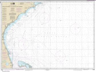 Buy map Cape Hatteras to Straits of Florida Nautical Chart (11009) by NOAA from North Carolina Maps Store