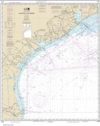 Buy map Galveston to Rio Grande Nautical Chart (11300) by NOAA from Texas Maps Store