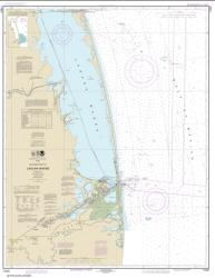 Buy map Southern part of Laguna Madre Nautical Chart (11301) by NOAA from Texas Maps Store
