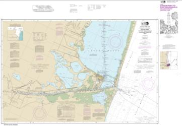 Buy map Intracoastal Waterway Stover Point to Port Brownsville, including Brazos Santiago Pass Nautical Chart (11302) by NOAA from Texas Maps Store