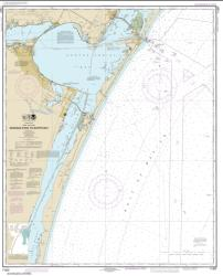 Buy map Aransas Pass to Baffin Bay Nautical Chart (11307) by NOAA from Texas Maps Store
