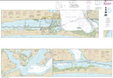 Buy map Intracoastal Waterway Redfish Bay to Middle Ground Nautical Chart (11308) by NOAA from Texas Maps Store