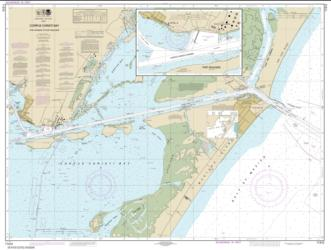 Buy map Corpus Christi Bay - Port Aransas to Port Ingleside Nautical Chart (11312) by NOAA from Texas Maps Store