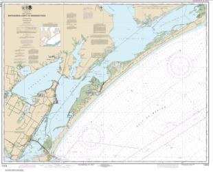 Buy map Matagorda Light to Aransas Pass Nautical Chart (11313) by NOAA from Texas Maps Store
